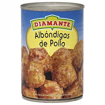 Conservas Diamante albóndigas de pollo lata 400 g