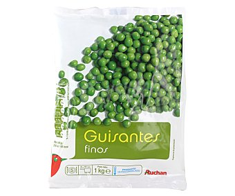 Auchan Guisantes finos 1 kilogramo