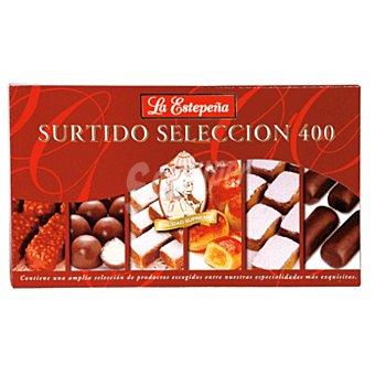 La Estepeña Surtido selección de chocolate puro y mazapán Estuche 400 g