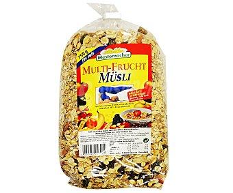 Mestemacher Muesli con Frutas 750 Gramos