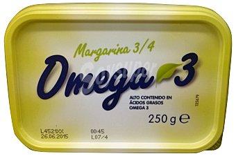 HACENDADO Margarina omega 3 baja en sal  Tarrina de 250 g