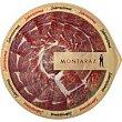 Plato de jamón ibérico de cebo de campo Bandeja 90 g Montaraz