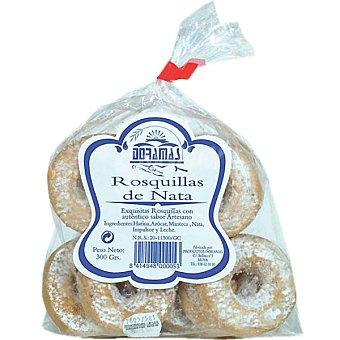 Doramas Rosquillas de nata bolsa 300 g Bolsa 300 g
