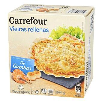 Carrefour Vieiras rellenas con gambas 240 g