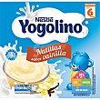 Natillas sabor vainilla sin gluten pack 4x100 g desde 6 meses estuche 400 g estuche 400 g Yogolino Nestlé
