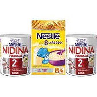 Nidina Nestlé Lote Leche continuación 600 gr