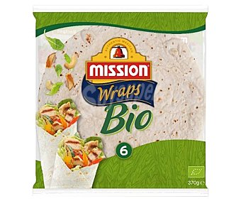 Mission Wrap ecológicos 6 uds. 370 g