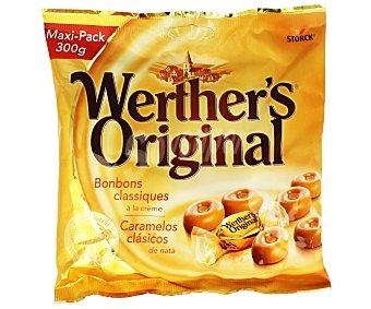Werther's Original Caramelo clásico de mantequilla y nata fresca Bolsa 300 g