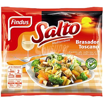 Findus Brasador toscano de verduras asadas a fuego lento Salto Mediterráneo Bolsa 500 g