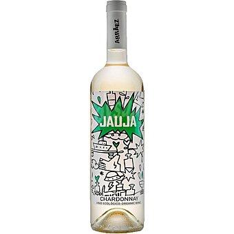 Jauja Vino blanco chardonnay ecológico DO Alicante Botella 75 cl