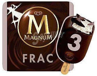 Magnum Frigo Frac helado de nata con chocolate negro estuche... 3 unidades
