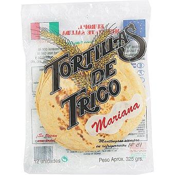 Mariana Tortillas de trigo 12 unidades (325 g)