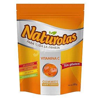 NATUROLAS Caramelos sabor naranja sin glutén 100 g