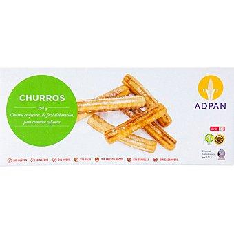 Adpan Churros sin gluten bolsa 250 g 12 unidades Bolsa 250 g