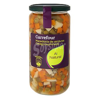 Carrefour Macedonia de verduras al natural 400 g
