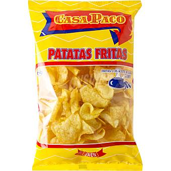 CASA PACO Patatas fritas en aceite de oliva bolsa 250 g Bolsa 250 g