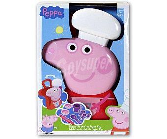 PEPPA PIG Maletín de Cocinera con Accesorios 1u