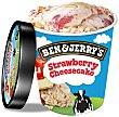 Helado de tarta de queso con fresas y trocitos de galleta Tarrina 500 ml Ben & Jerry's