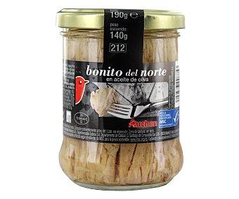 Auchan Bonito del norte en aceite de oliva 140 gramos
