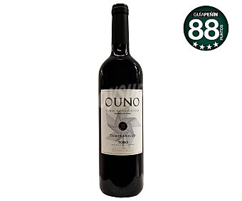 Ouno Vino tinto tempranillo, ecológico y con denominación de origen Toro Botella de 75 cl