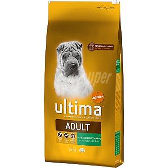Ultima Affinity Rico en cordero y arroz para perro Adult Bolsa 15 kg