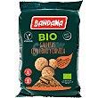 Bio galletas con lino y canela ecológicas y sin lactosa sin proteína de la leche, ni huevo frutos secos Bolsa 150 g NI