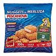 Nuggets merluza congelado Paquete de 330 g Pescanova