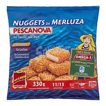 Pescanova Nuggets merluza congelado Paquete de 330 g