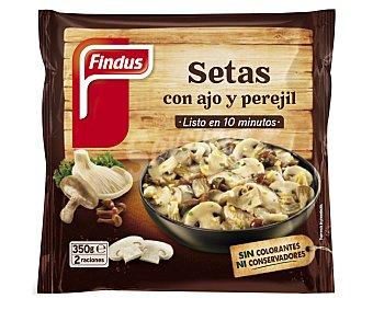 Findus Guarniciones de setas con ajo y perejil Verdeliss Bolsa 350 g