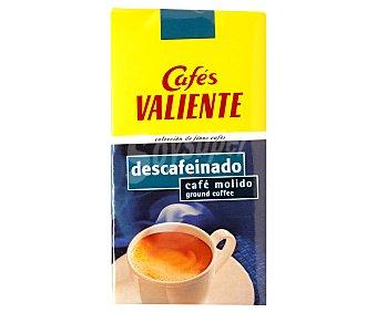 Cafés Valiente Café molido descafeinado 250 g