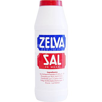 Zelva sal fina bote 750 g Bote 750 g
