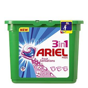 Ariel Detergente Ariel Tabs 3 en 1 Sensaciones 27 dosis