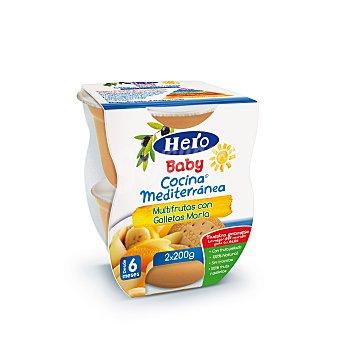 Hero Baby Hero Baby Cocina Mediterránea Potito Multirutas con Galleta 400 g ( 2 tarritos)