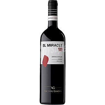 EL MIRACLE Vino tinto tempranillo syrah D.O. Valencia Botella 75 cl