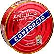 Filetes de anchoa en aceite de oliva Lata 400 g neto escurrido Consorcio