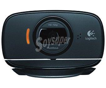 LOGITECH HD C525 Cámara web, 1 megapixel, sensor cmos, resolución fotográfica 1280 x 720 pixels, reconocimiento facial, micrófono integrado, usb,