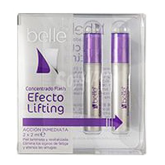 Eroski Ampolla Flash Efecto Lifting belle Pack 2x2 ml