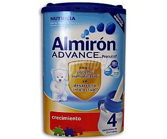 ALMIRON Leche crecimiento 4, para niños de 2 a 3 años Advance 800 g