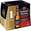 Cerveza especial pack 11+1x25 cl Estrella Galicia