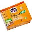 tostadas sabor pizza sin gluten sin lactosa  paquete 100 g Santiveri Noglut