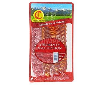 Casademont Salchichón y Chorizo en lonchas 200 Gramos
