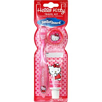 Hello Kitty Cepillo dental infantil + pasta dentífrica tubo 25 ml blister 1 unidad Tubo 25 ml