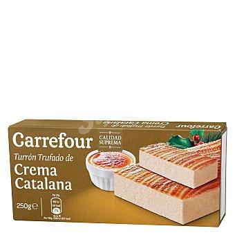 Carrefour Turrón de crema catalana 250 g