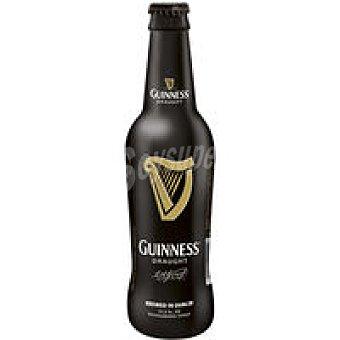 GUINESS Draught Cerveza irlandesa negra Botellín 33 cl