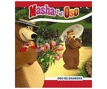 HACHETTE Masha y el Oso. Oso no está enamorado, O. kuzovkov. Género: infantil. Editorial Hachette