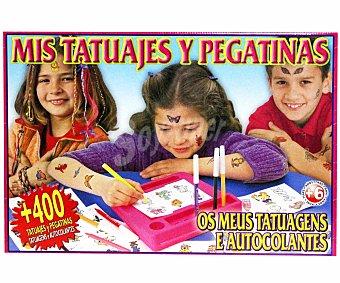 FALOMIR JUEGOS Centro de Creación de Tatuajes y Pegatinas 1 Unidad
