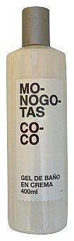 Deliplus Gel baño monogotas coco Botella 400 cc