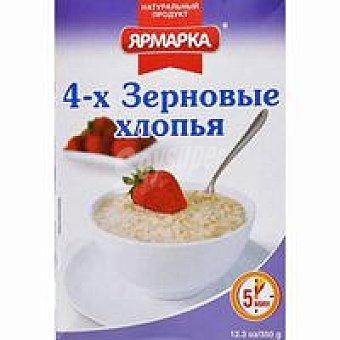 YARMARKA Copos de avena 4 variedades Caja 350 g