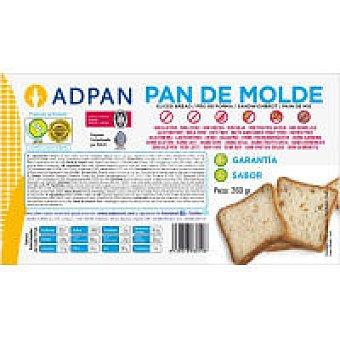 Adpan Pan de molde Paquete 260 g