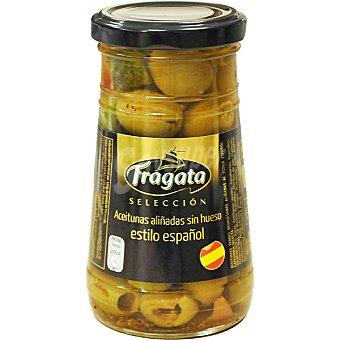 FRAGATA Selección Aceitunas aliñadas sin hueso estilo español Frasco 135 g